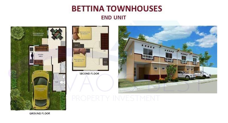 Bettina Townhouse (End Unit) ~ Davao Best Property