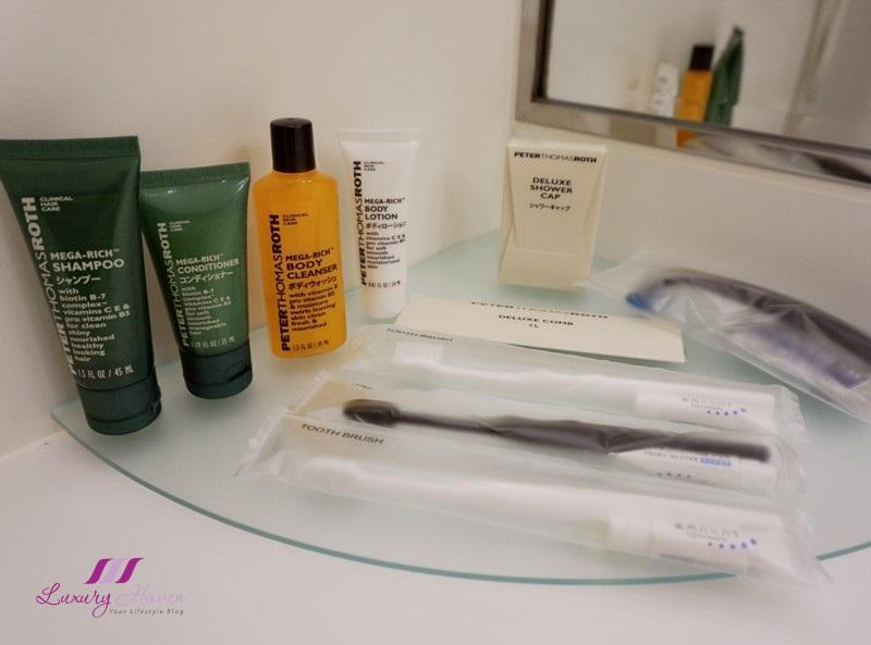 hotels hilton tokyo bay bathroom amenities peter thomas roth