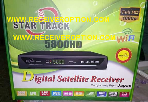 STAR TRACK 5800HD RECEIVER POWERVU KEY OPTION
