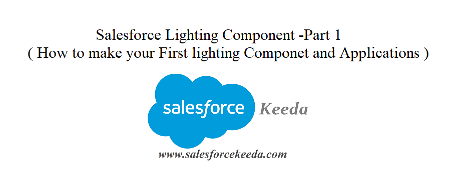 Salesforce Lighting Component - part 1