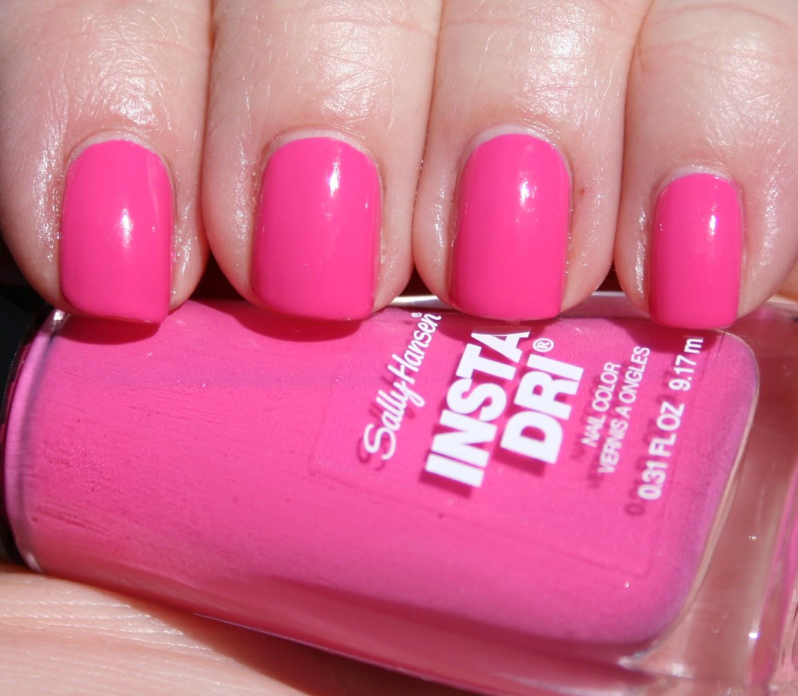 Sasha Says Nails... I\'m a Manicure Momma: Sally Hansen Insta-Dri in ...