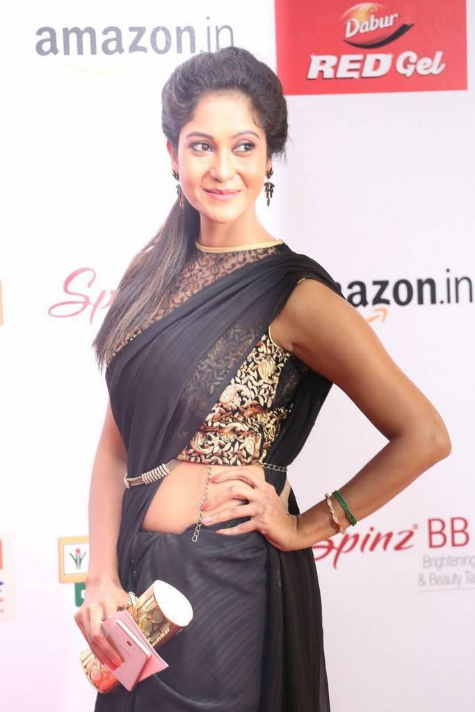 Sindhu Affan At Mirchi Music Awards South 2017 Stills