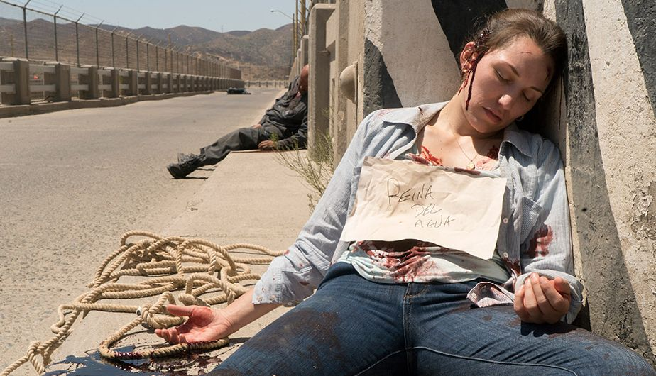 Lola en la Season Finale de la tercera temporada de Fear The Walking Dead
