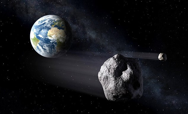 Asteroids are closer to the earth