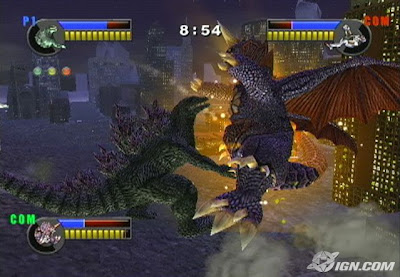 Godzilla: Unleashed (PS2) 2008
