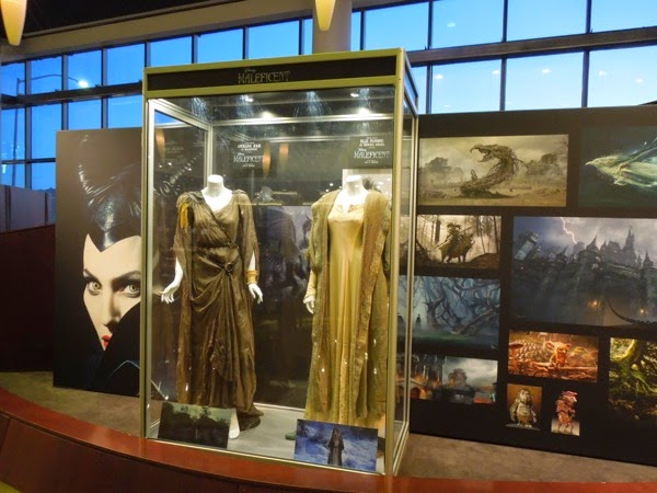 Disney Maleficent movie costume display