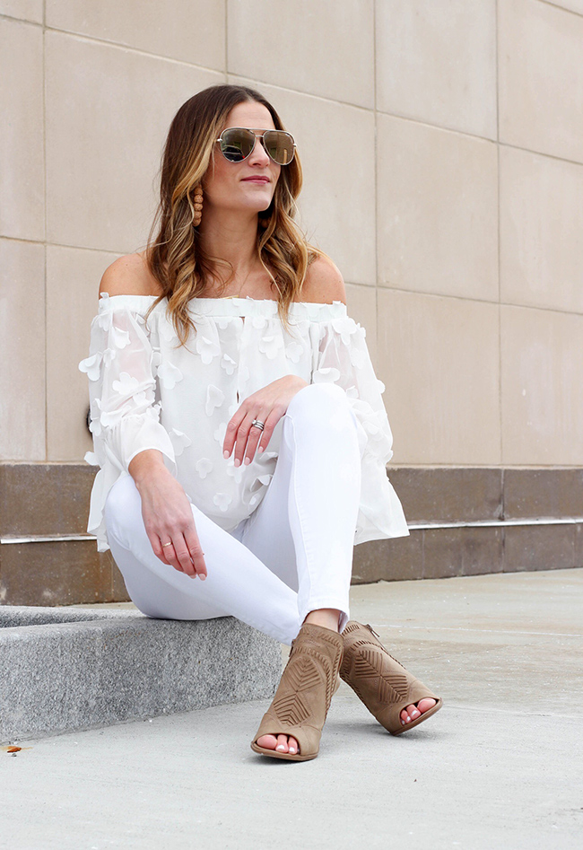 All white outfit #summerstyle