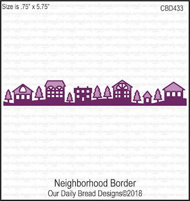 Custom Die: Neighborhood Border