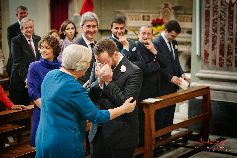 emozioni cerimonia matrimonio Genova Castelletto