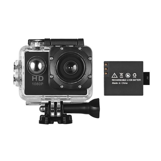 $6.70 OFF Mini Sports DV1080P HD Action Camera,free shipping $13.33 (Code:ZD5960)
