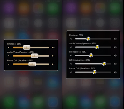 cydia tweak that allows you to control the volume of each media channel & output separately