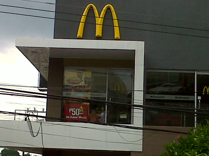 Fast Food Restaurants Along My Route