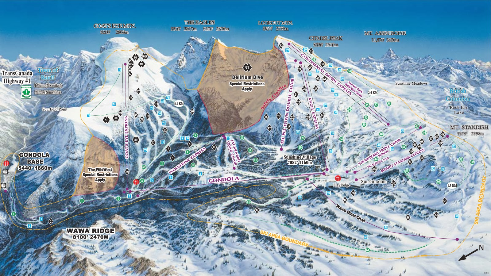 Banff Sunshine Village Ski Resort, Banff, Alberta - Where is the Best Place for Skiing And Snowboarding in Canada