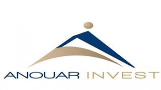 Anouar Invest recrute 4 profils