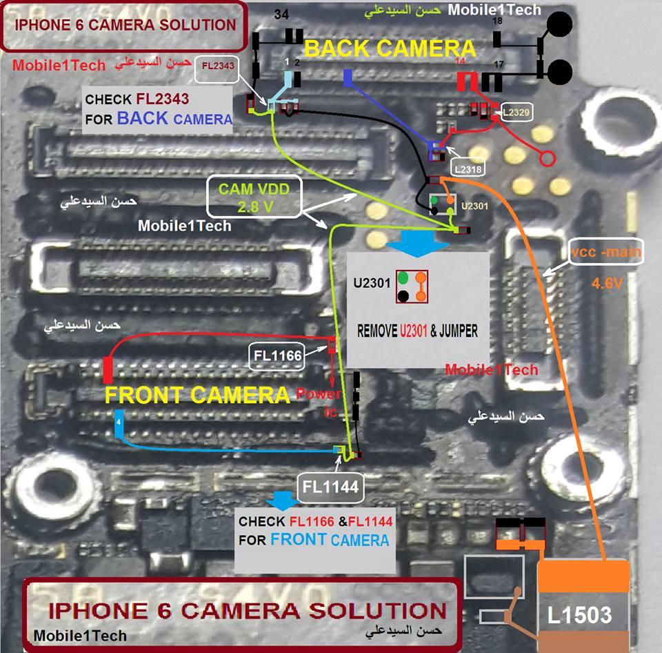 Iphone 6 Schematic Diagram