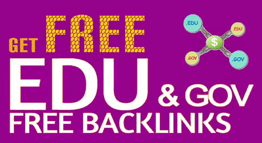 Get Unlimited .Edu/.Gov Authority Backlinks For Free In 2015