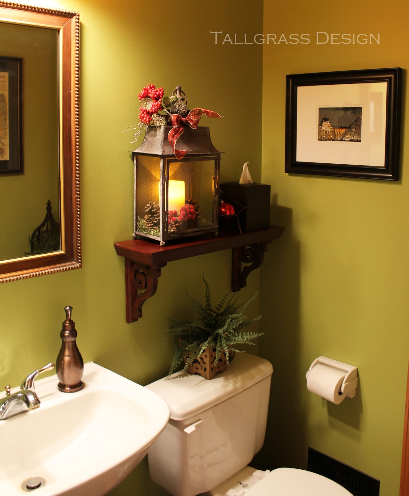 Rooms Decoration: Tallgrass Design: Powder Room Reveal