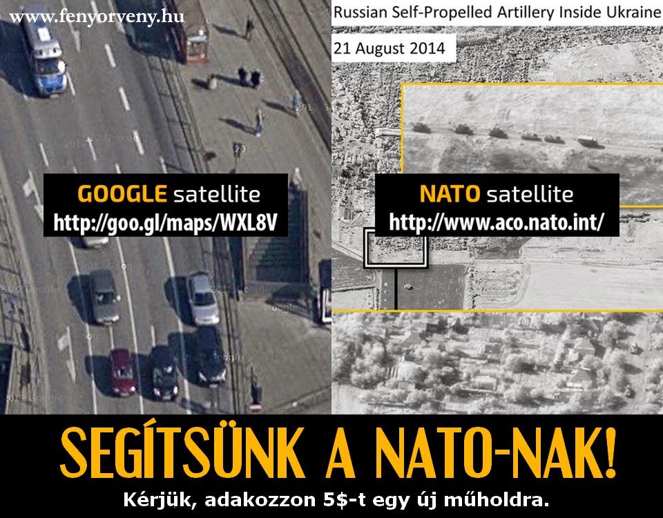 Nem telik a NATO-nak jobb műholdra? - Így manipulál a háttérhatalom