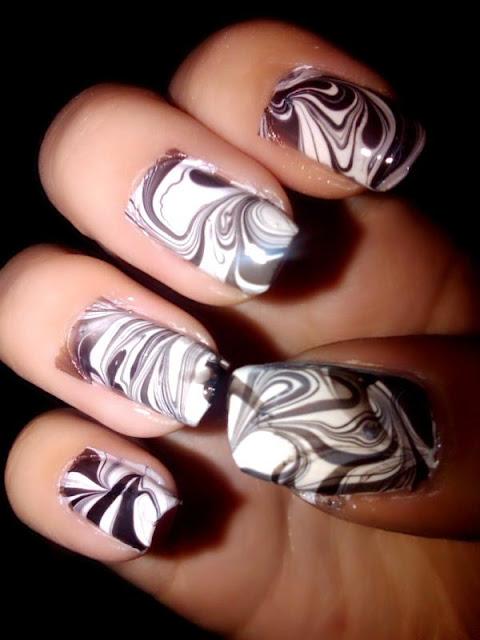 uñas de coracion