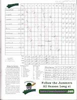 Scrappers vs. Jammers, 06-16-14. Scrappers win, 2-1.