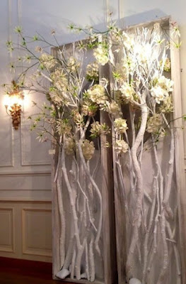 K'Mich Weddings - wedding floral branches