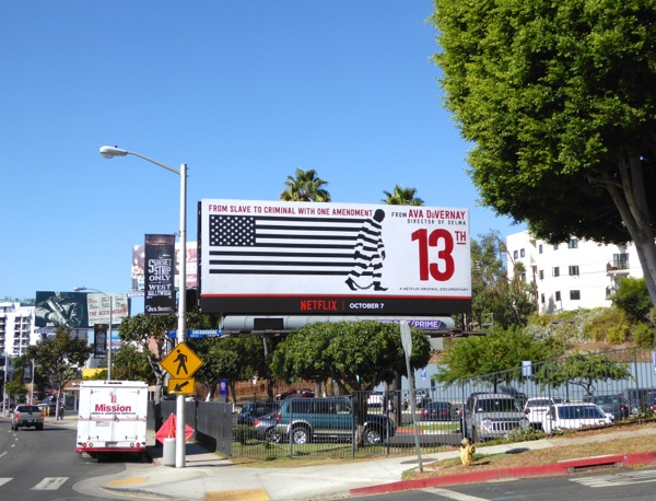 13th documentary film billboard