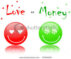 money is more important than love