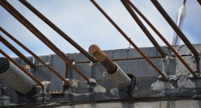 cara menghilangkan karat pada besi tulangan beton