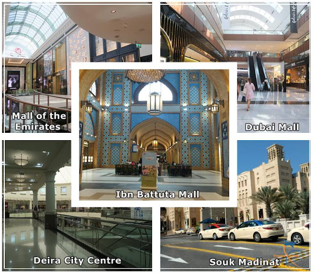 Os 5 principais shoppings de Dubai
