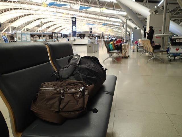 大阪關西機場過夜