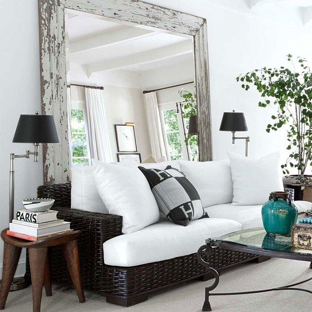 Specchio Sopra Divano.Home Staging Italia 9 Idee Per Ingrandire La Casa Con Gli