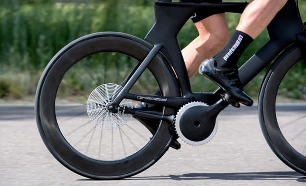 CeramicSpeed apresentou um modelo de bicicleta que dispensa corrente e câmbio