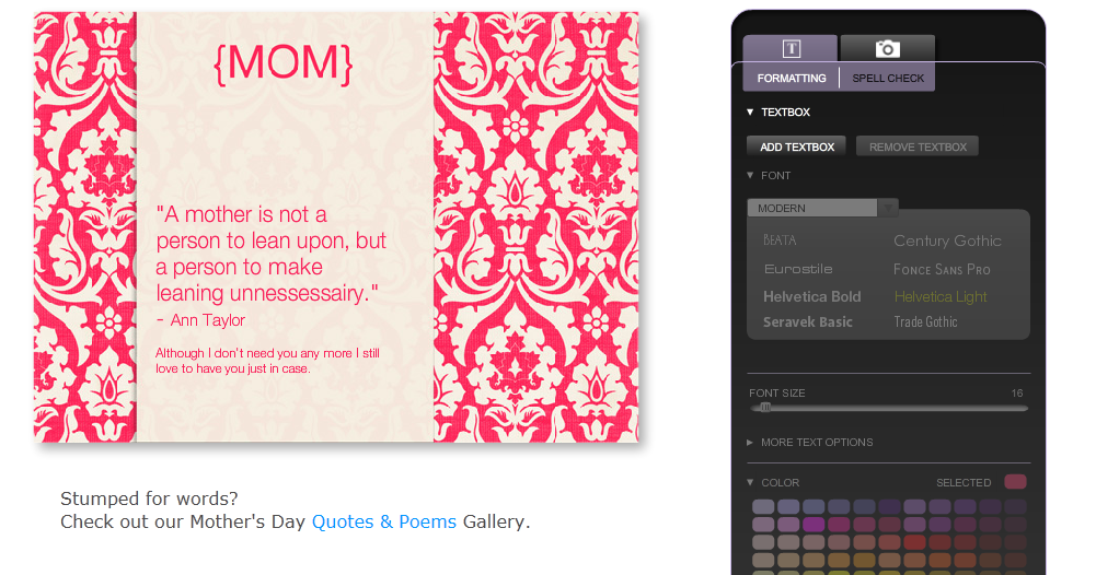 Designed by Chance: Mother's Day!