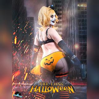 Harley Quinn's pumpkin panties