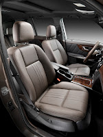 New 2012 Mercedes Benz GLK X204 FaceLift Interior Seats Official High Resolution Picture