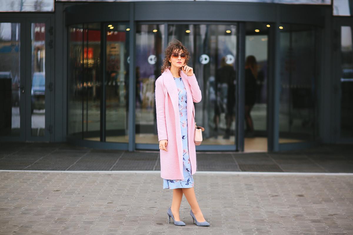 платье и пальто как сочетать