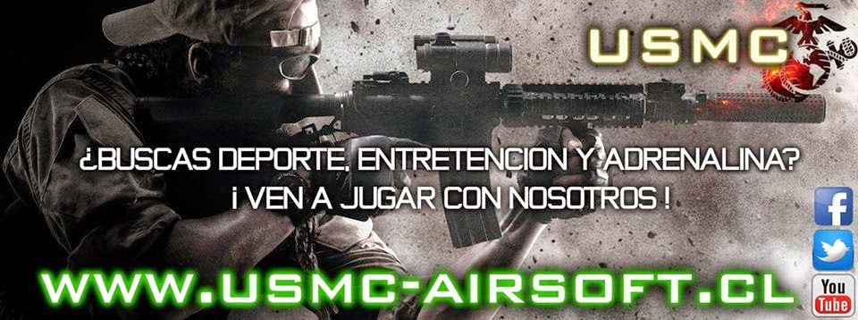 USMC Airsoft Team Chile