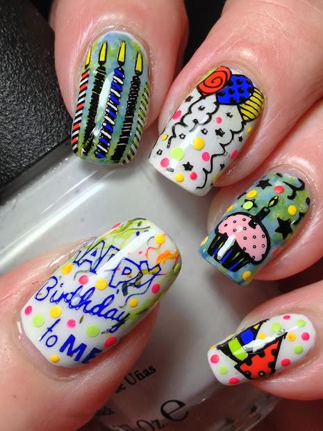 canadian nail fanatic happy birthday