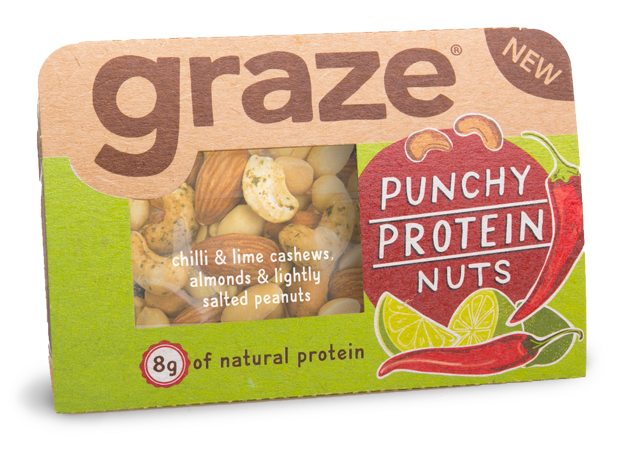 Graze - Good To Go on Packaging of the World - Creative ...