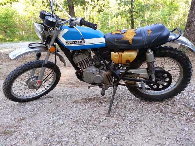 Hotdabble: The 1971 Suzuki TS 185