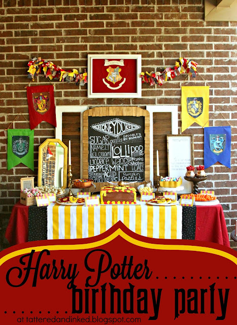 DIY Harry Potter Birthday Party