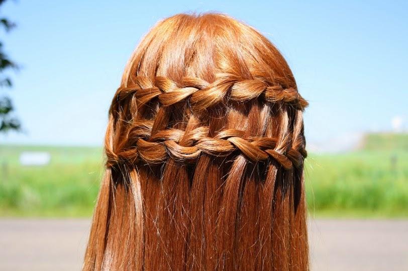 Astonishing Waterfall Braided Hairstyles For Girls Hairstyle Inspiration Daily Dogsangcom