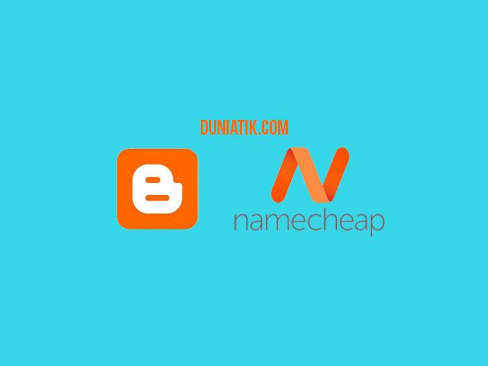 cara setting custom domain blogspot di namecheap