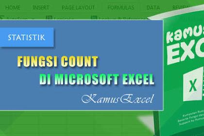 Rumus COUNT (Fungsi COUNT) di Microsoft Excel