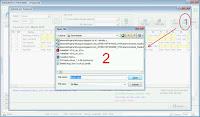 Langkah 3 : Mengimport File Exel ke Jendela Jadwal Perkaryawan Fingerspot Personnel