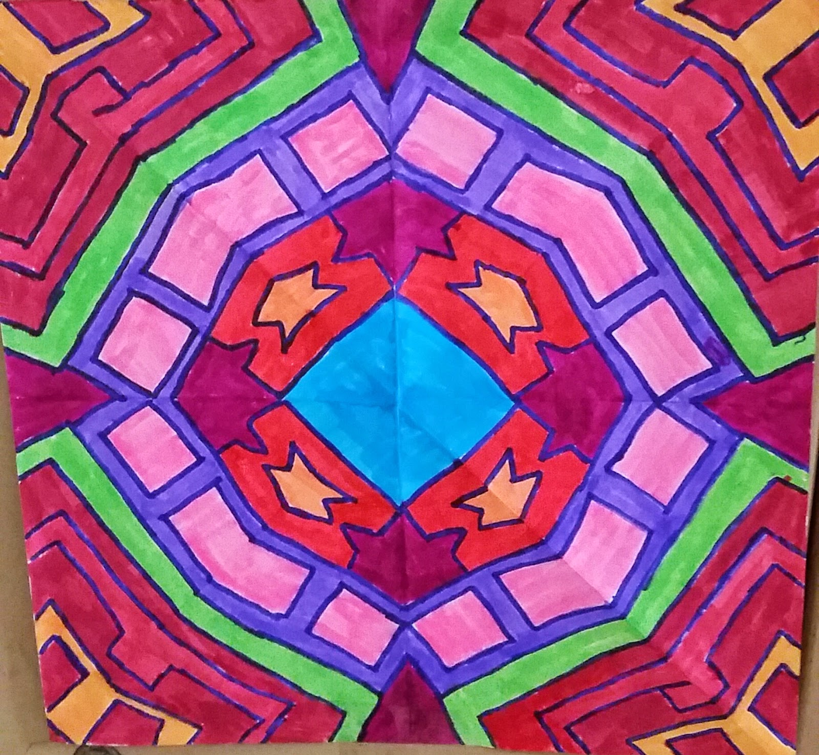 Aunt Minty S Education Place Math Symmetry Congruence