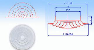 Thông số kỹ thuật miệng gió tròn