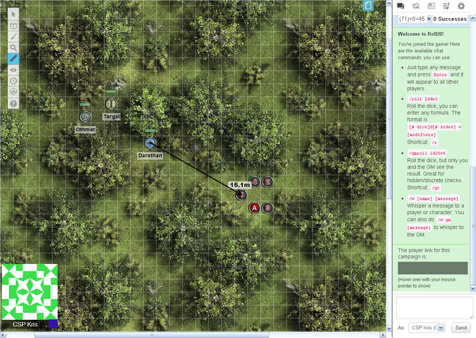 The Crooked Staff Blog: Experimenting with the Roll 20 virtual tabletop