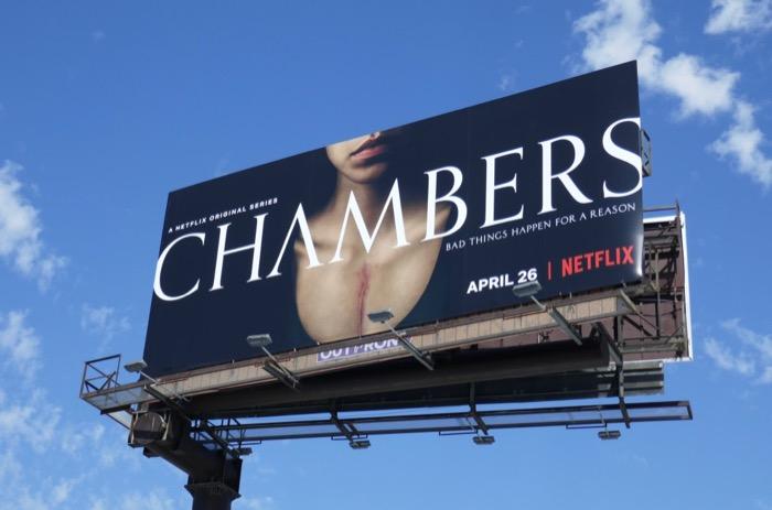Chambers season 1 billboard
