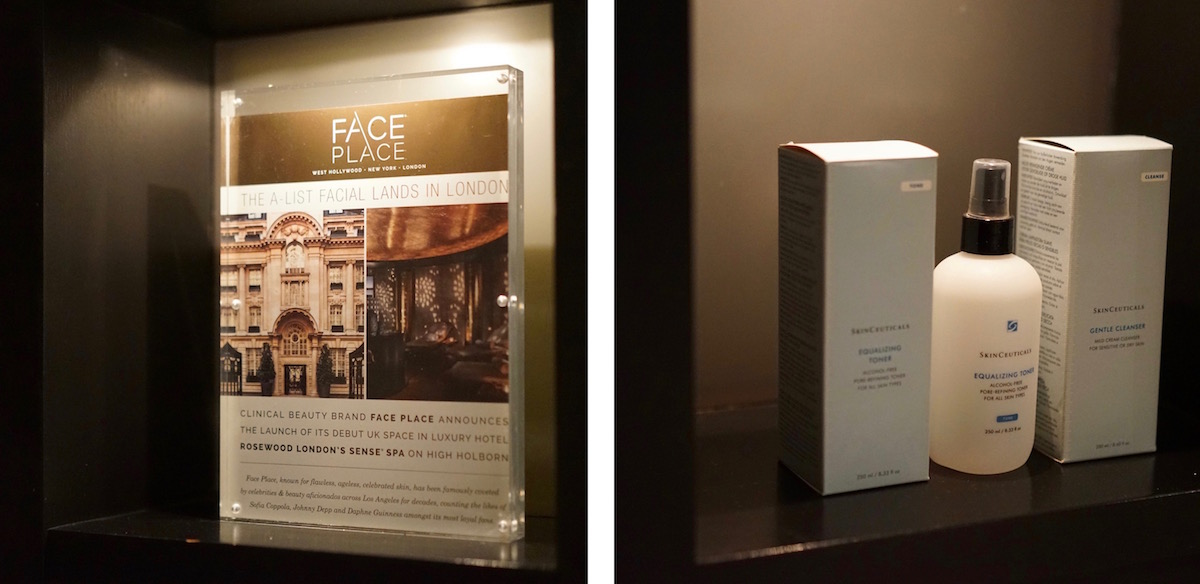 Face place signature facial the style memo for A signature hollywood salon